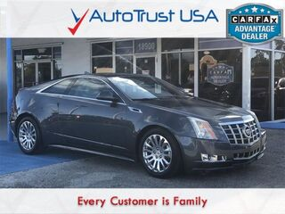 Cadillac CTS Coupe Premium 2012