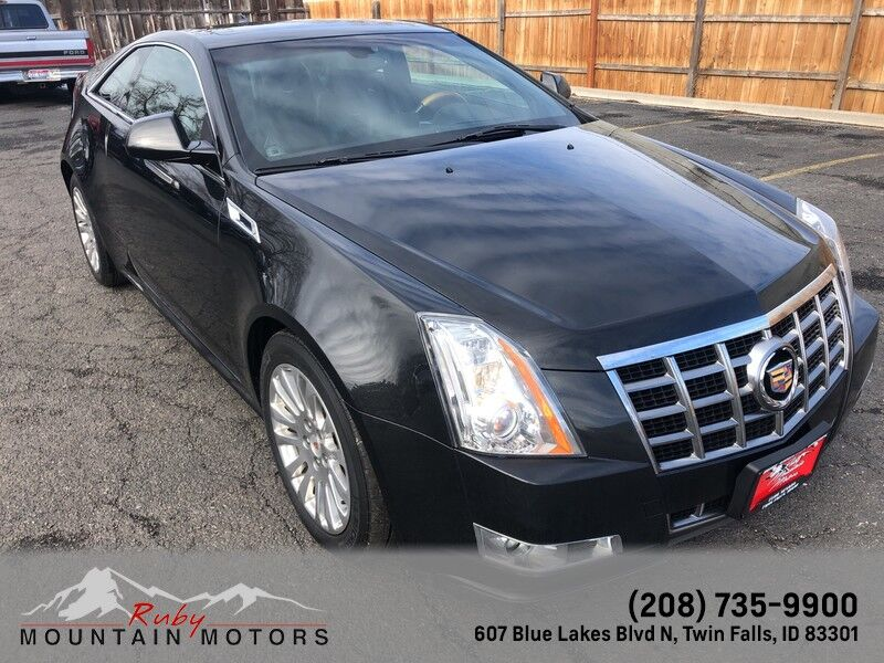 2012 Cadillac CTS Coupe Premium Twin Falls ID