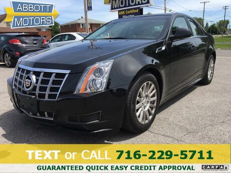 2012 Cadillac CTS Sedan AWD w/Low Miles & MoonRoof Buffalo NY