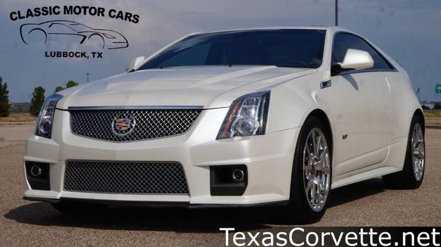 2012 Cadillac CTS-V Coupe  Lubbock TX
