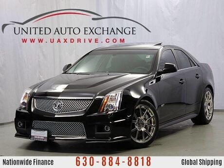 2012 Cadillac CTS-V Sedan 6.2L Supercharged V8 w/ Navigation, Panoramic Sunroof & Backup Camera Addison IL