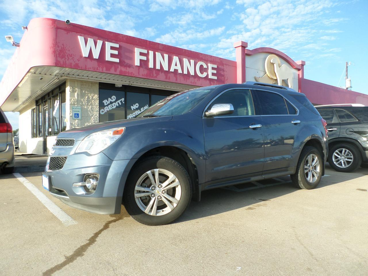 2012 Chevrolet Equinox Leather-Sunroof-CD-Reverse Cam-NAV-AWD-Alloywheels-powerlocks