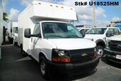 2012 Chevrolet 2500 Express 12' Dry Freight Box