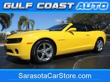 2012_Chevrolet_Camaro_1LT CONVERTIBLE! ONLY 32K MI! RALLY YELLOW! LEATHER! CARFAX CERT!_ Sarasota FL