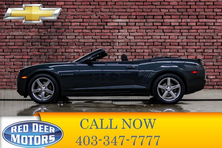 2012 Chevrolet Camaro 1LT Convertible BCam Red Deer AB