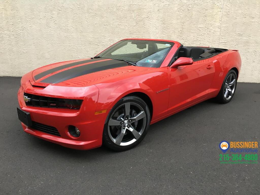 2012 Chevrolet Camaro Convertible 2SS Feasterville PA