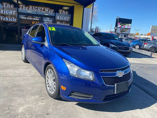 2012 Chevrolet Cruze 4d Sedan ECO Albuquerque NM