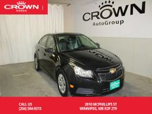 2012_Chevrolet_Cruze_LS+ w/1SB / ONE OWNER/ LOW KMS_ Winnipeg MB