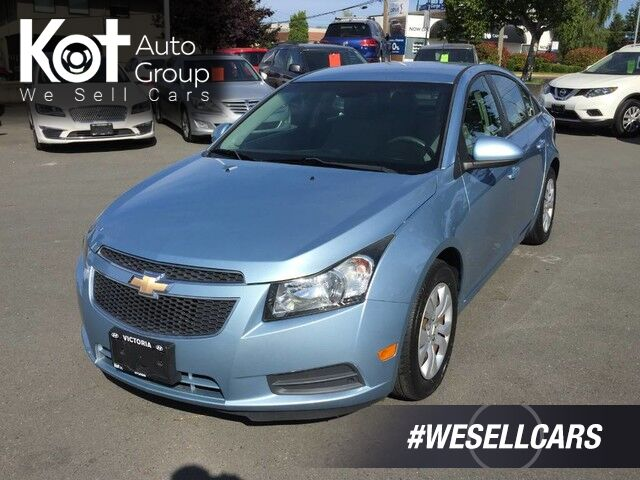 2012 Chevrolet Cruze LT Turbo w/1SA LOW PRICE! LOCAL VEHICLE! Kelowna BC