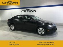 2012_Chevrolet_Cruze_LT Turbo with 1SA **No Accidents** Local Manitoba Trade In** ECOTEC Engine**_ Winnipeg MB