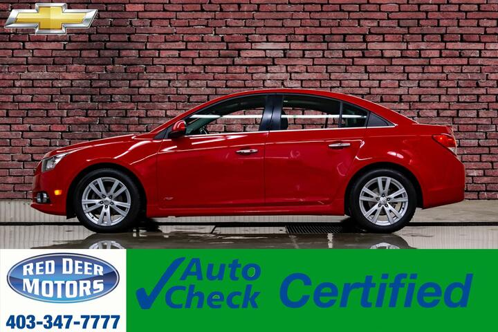 2012 Chevrolet Cruze LTZ RS Leather Roof Red Deer AB