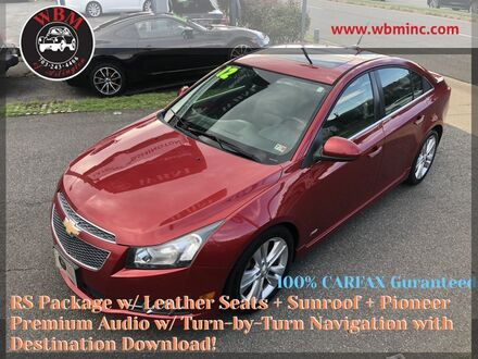 2012_Chevrolet_Cruze_LTZ w/ RS Package_ Arlington VA