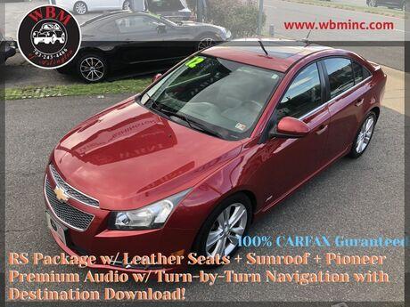 2012 Chevrolet Cruze LTZ w/ RS Package Arlington VA
