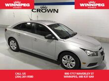 2012_Chevrolet_Cruze_Local trade/Cruise/AC_ Winnipeg MB