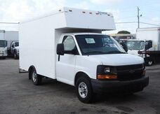 2012_Chevrolet_Express Commercial Cutaway_12' Dry Box_ Homestead FL
