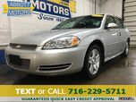2012 Chevrolet Impala LT Sedan w/Low Miles