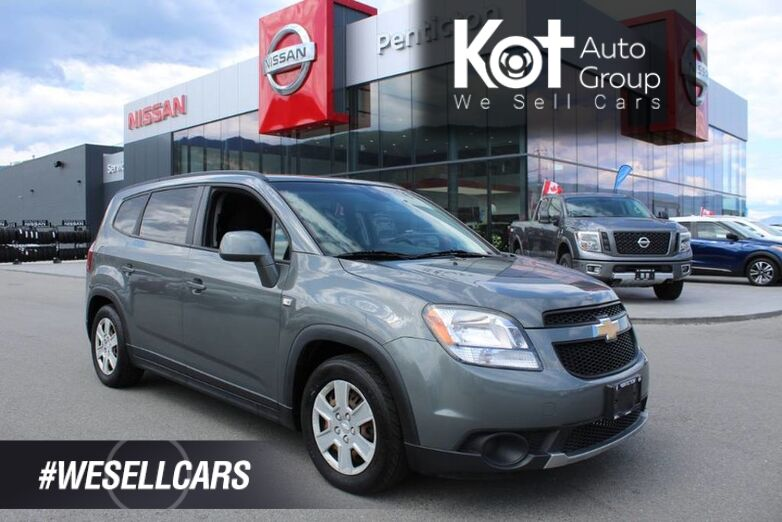 2012 Chevrolet Orlando 1LT, One Owner, Locally Driven, No Accidents Kelowna BC