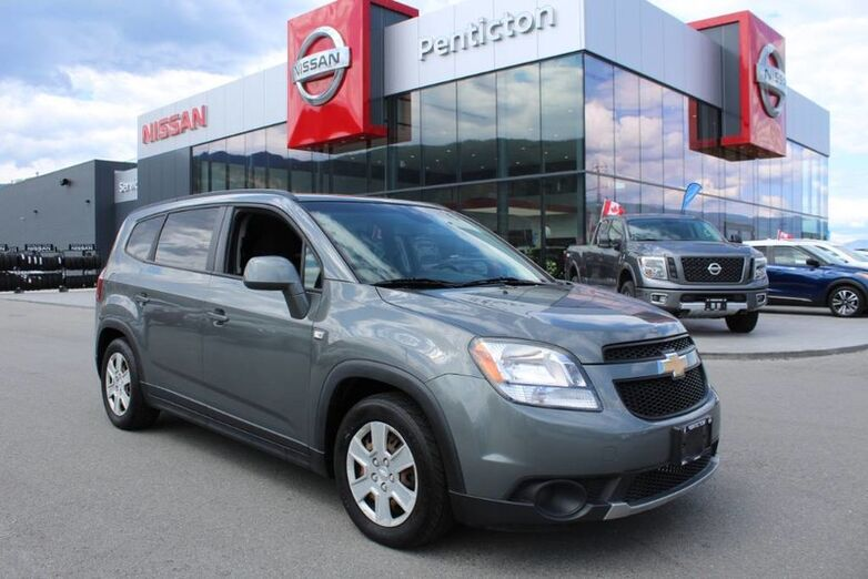 2012 Chevrolet Orlando 1LT, One Owner, Locally Driven, No Accidents Penticton BC