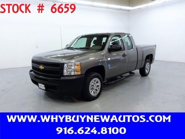 2012 Chevrolet Silverado 1500 ~ Liftgate ~ Extended Cab ~ Only 43K Miles! Rocklin CA