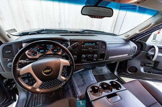 2012 Chevrolet Silverado 1500 4x4 Reg Cab LT Z71 Short Box Red Deer AB