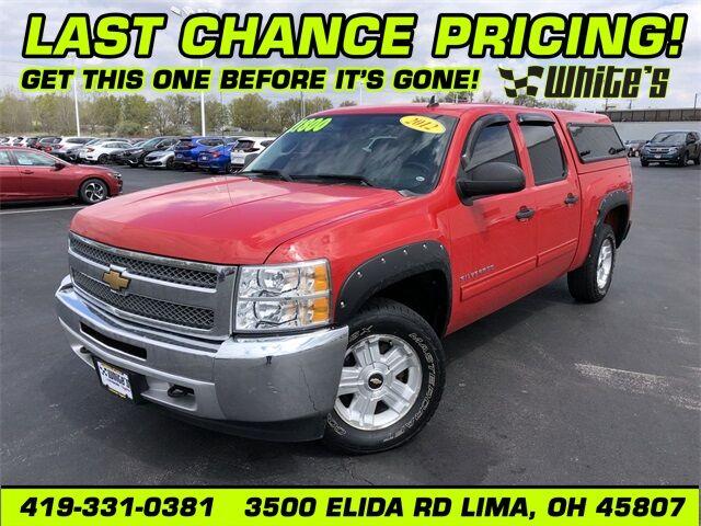 2012 Chevrolet Silverado 1500 LT Lima OH