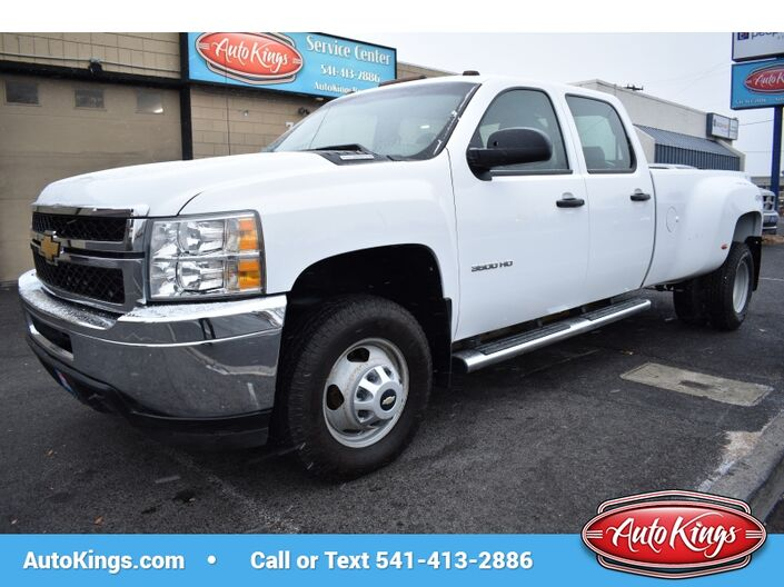 2012 Chevrolet Silverado 3500HD Dually 4x4 Crew Cab Bend OR