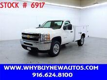 2012_Chevrolet_Silverado 3500HD_Utility ~ Only 64K Miles!_ Rocklin CA