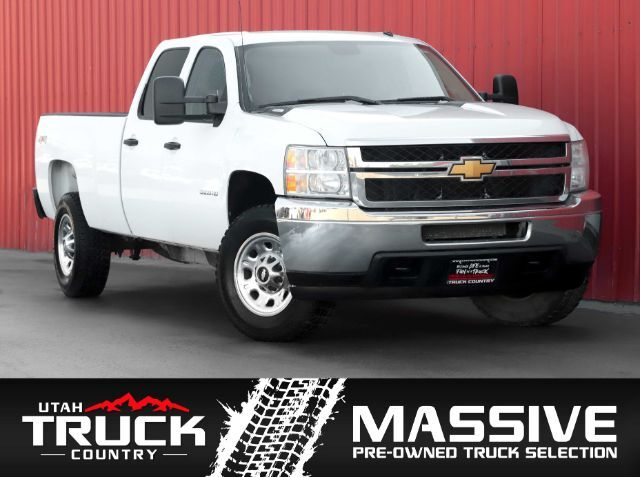 2012 Chevrolet Silverado 3500HD Work Truck Crew Cab Long Box 4WD Lehi UT