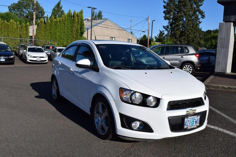 2012 Chevrolet Sonic  McMinnville OR