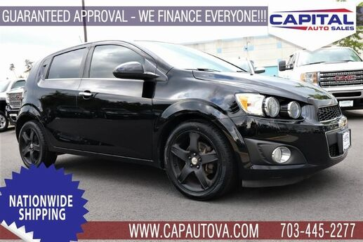 2012 Chevrolet Sonic 1LZ Chantilly VA