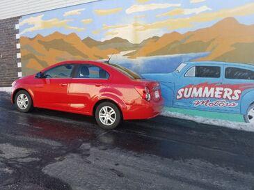 2012_Chevrolet_Sonic_2LT Sedan_ Saint Joseph MO