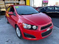 2012_Chevrolet_Sonic_4d Sedan LS2_ Albuquerque NM