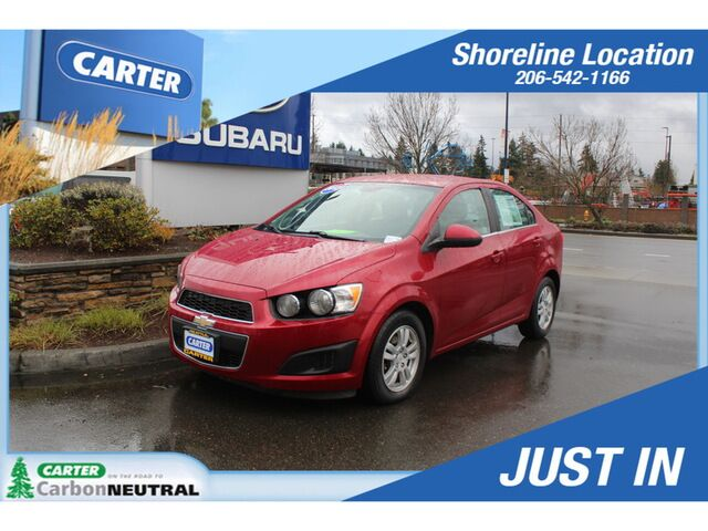 2012 Chevrolet Sonic LT 2LT Seattle WA