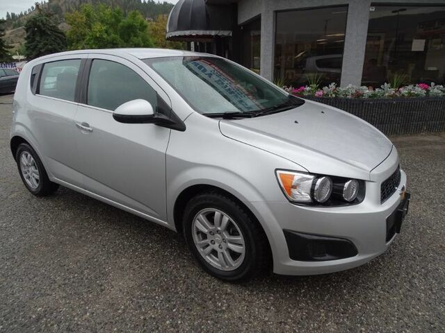 2012 Chevrolet Sonic LT Hatchback, Cruise Control, A/C, Low KM's Kelowna BC