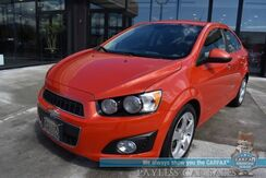 2012_Chevrolet_Sonic_LTZ / Automatic / Heated Leather Seats / Auto Start / Bluetooth / Cruise Control / Aux Jack / Aluminum Wheels / 35 MPG_ Anchorage AK