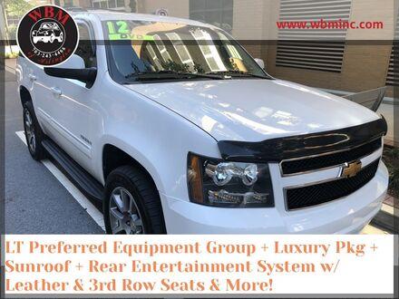 2012_Chevrolet_Tahoe_4WD LT w/ Luxury package_ Arlington VA