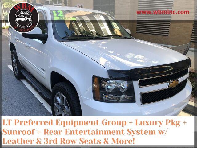 2012 Chevrolet Tahoe 4WD LT w/ Luxury package Arlington VA