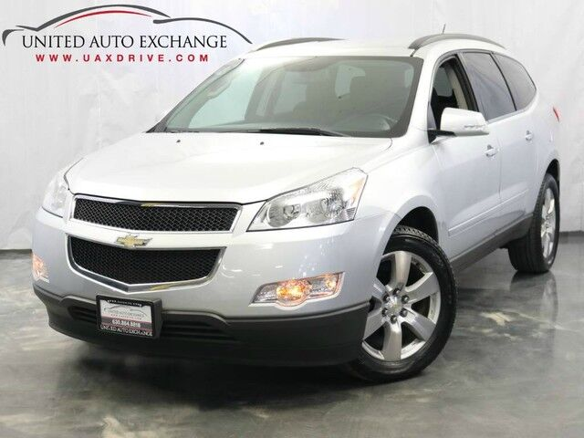 2012 Chevrolet Traverse LT w/1LT / 3.6L V6 Engine / AWD / Leather Seats / Rear View Came Addison IL