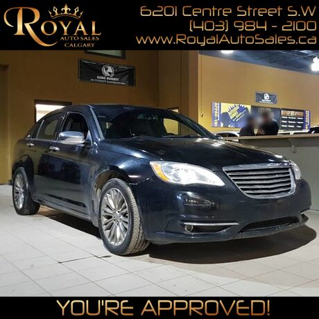 2012 Chrysler 200 Limited Calgary AB