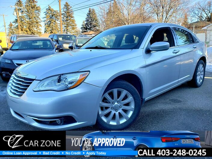 2012 Chrysler 200 Touring Only 53000 kms Calgary AB