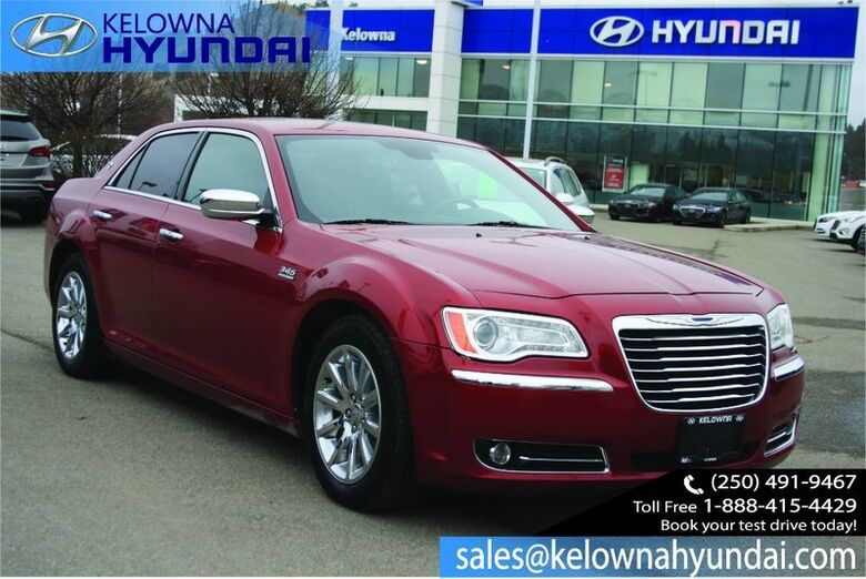 2012 Chrysler 300 300C Remote Start System, Hemi, Leather, Heated steering wheel. Penticton BC