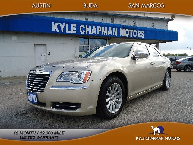 2012 Chrysler 300 LTHR-PUSH START-CD-AUX-USB-XM