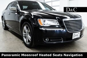 2012 Chrysler 300 Limited Panoramic Moonroof Heated Seats Navigation