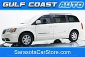2012 Chrysler TOWN & COUNTRY TOURING LEATHER NAVIGATION DVD STOW&GO RUNS GREAT