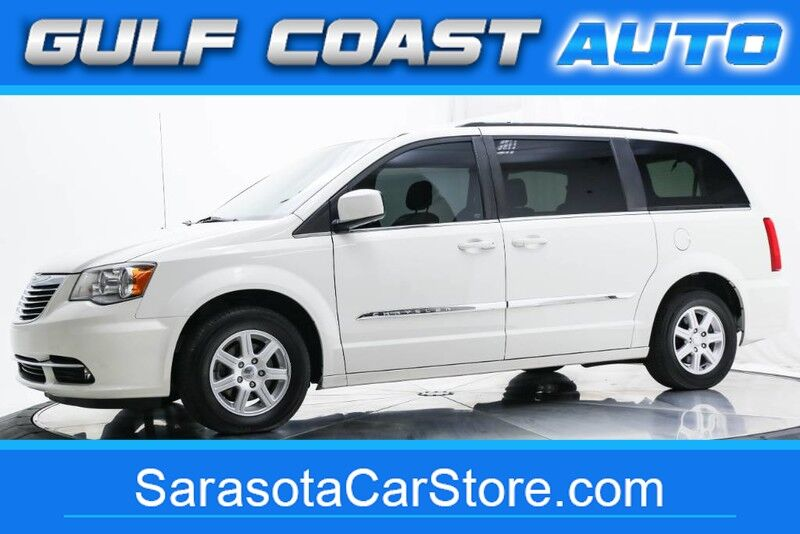 2012 Chrysler TOWN & COUNTRY TOURING LEATHER NAVIGATION DVD STOW&GO RUNS GREAT Sarasota FL
