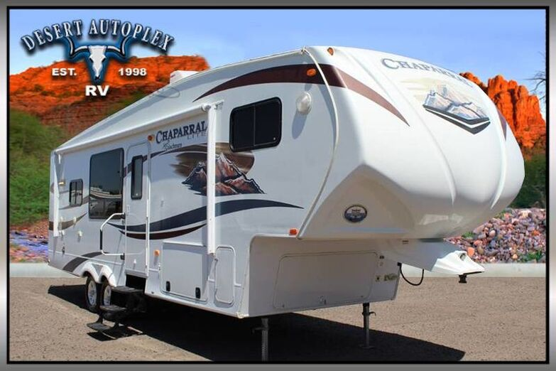 2012 Coachmen Chaparral Lite 270RKS Single Sli 5th Wheel RV Mesa AZ