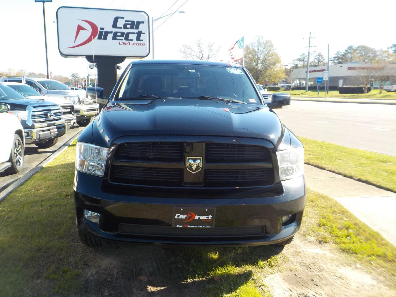 2012 DODGE RAM 1500 QUAD CAB SPORT 4X4, LEATHER, BED LINER, TOW PACKAGE, ALPINE SOUND SYSTEM, EXTREMELY CLEAN! Virginia Beach VA