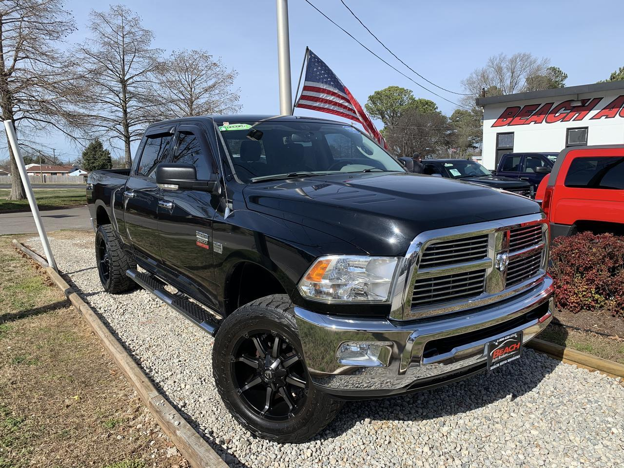 2012 DODGE RAM LIMITED EDITION BIG HORN CREW CAB 4X4, WARRANTY, LIFTED,.0NAV, BACKUP CAM, BLUETOOTH, PIONEER SOUND! Norfolk VA