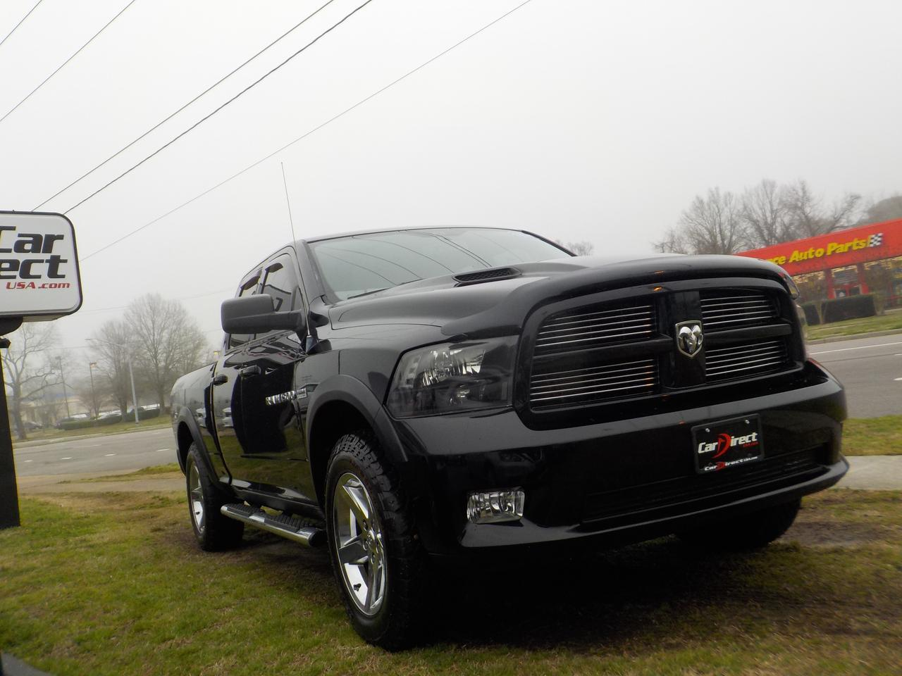 2012 DODGE RAM SPORT QUAD CAB 4X4 HEMI, WARRANTY, REMOTE START,BLUETOOTH, RUNNING BOARDS, TOW, SIRIUS RADIO! Virginia Beach VA