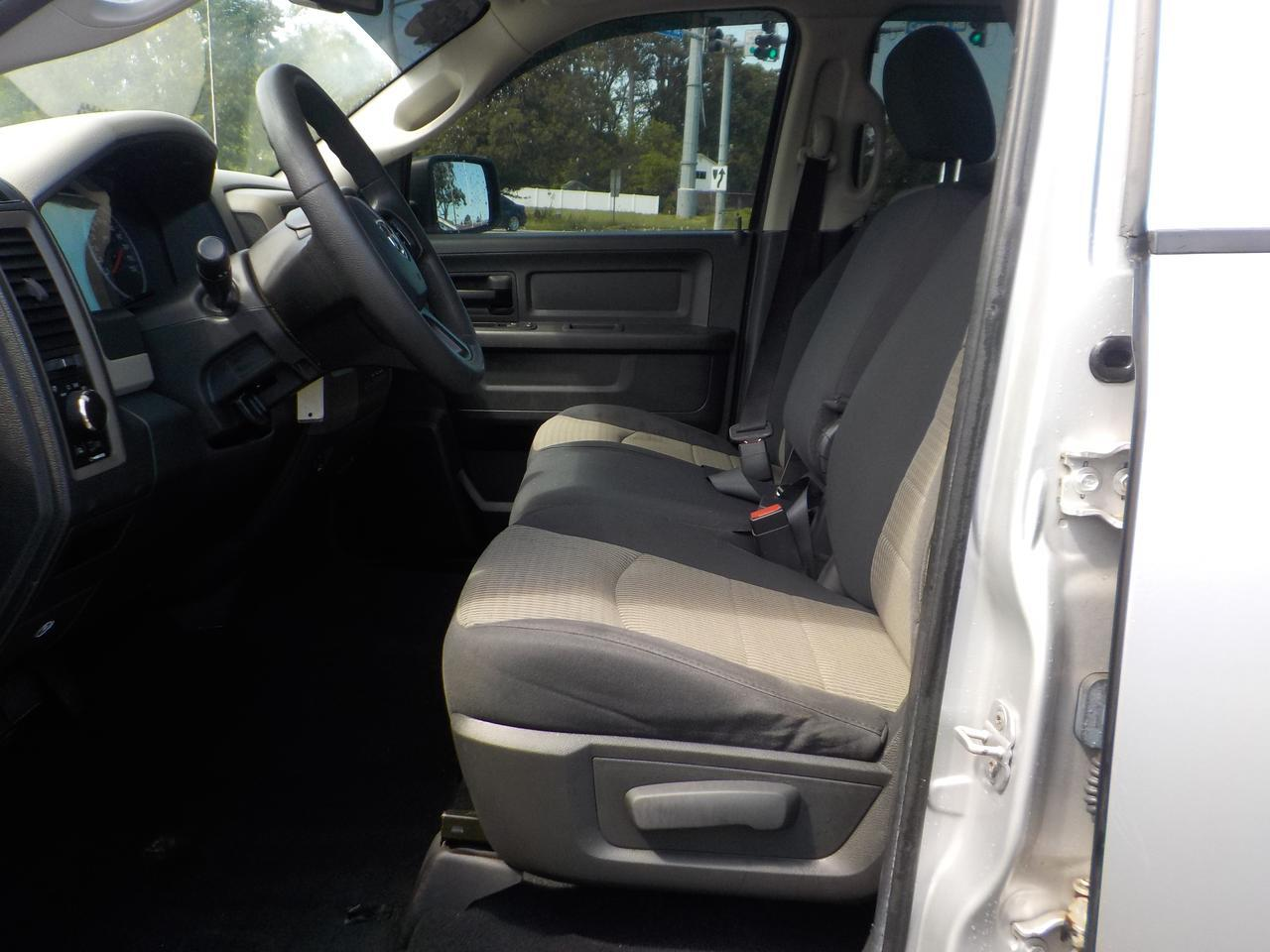 2012 DODGE RAM ST QUAD CAB 4X4, WARRANTY, SIRIUS RADIO, BLUETOOTH, UCONNECT, TOW PKG, BED LINER, CLEAN CARFAX! Norfolk VA